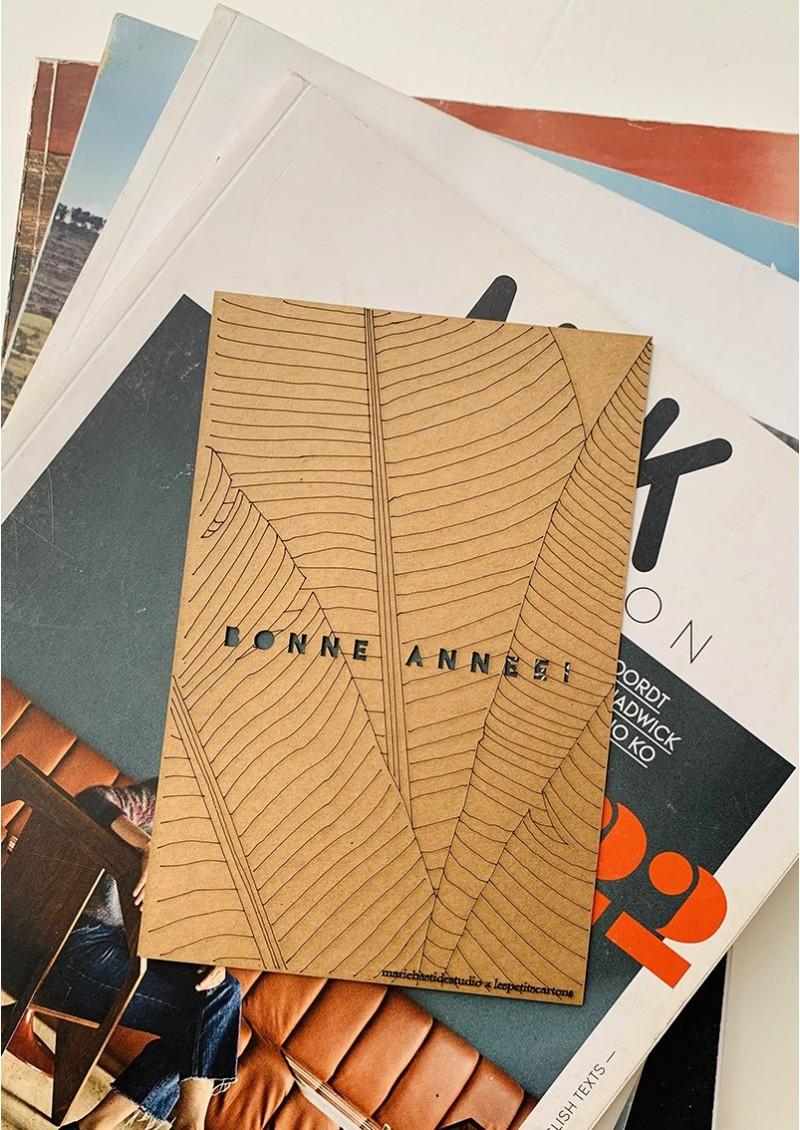 BONNE ANNEE - BANANA