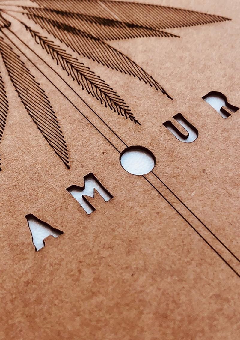 AMOUR - PALM 10 x 15