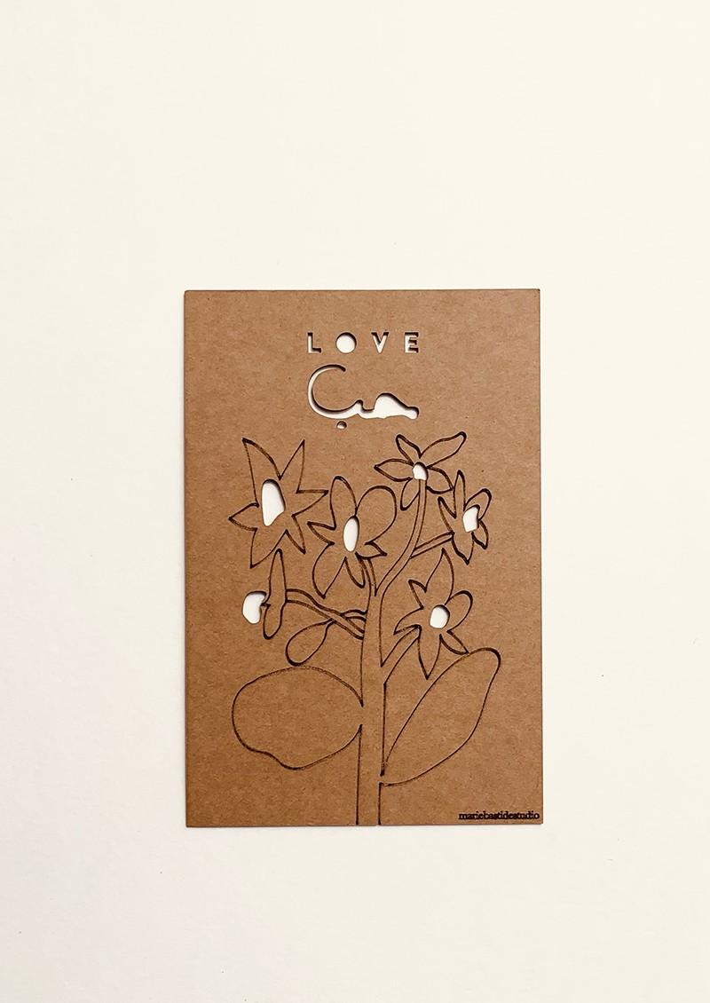 LOVE  -  FLOWER
